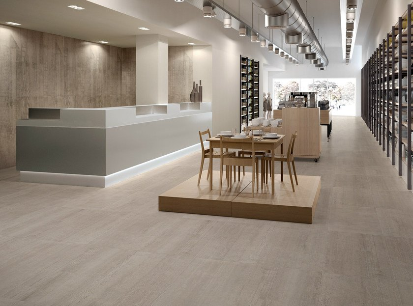 Porcelain stoneware wall/floor tiles LINK DESERT SAND by CERAMICHE KEOPE