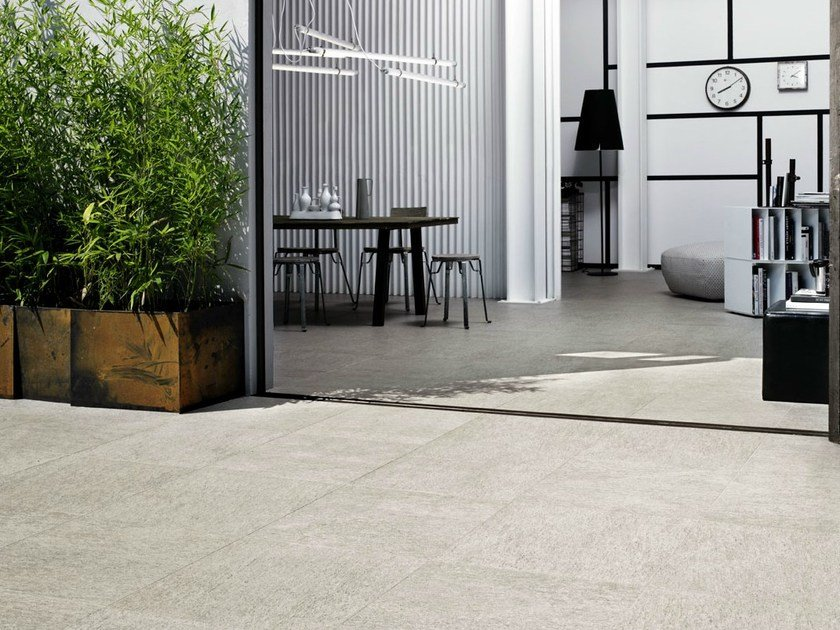 Indoor/outdoor porcelain stoneware wall/floor tiles LUSERNA - MARAZZI