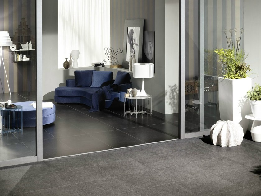 Indoor/outdoor porcelain stoneware wall/floor tiles PIERRE BLEUE - MARAZZI