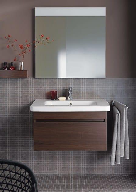 Mobile lavabo sospeso in legno DURASTYLE  Mobile lavabo - DURAVIT