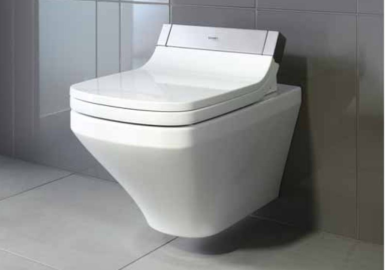 Wall-hung ceramic toilet DURASTYLE | Wall-hung toilet - DURAVIT
