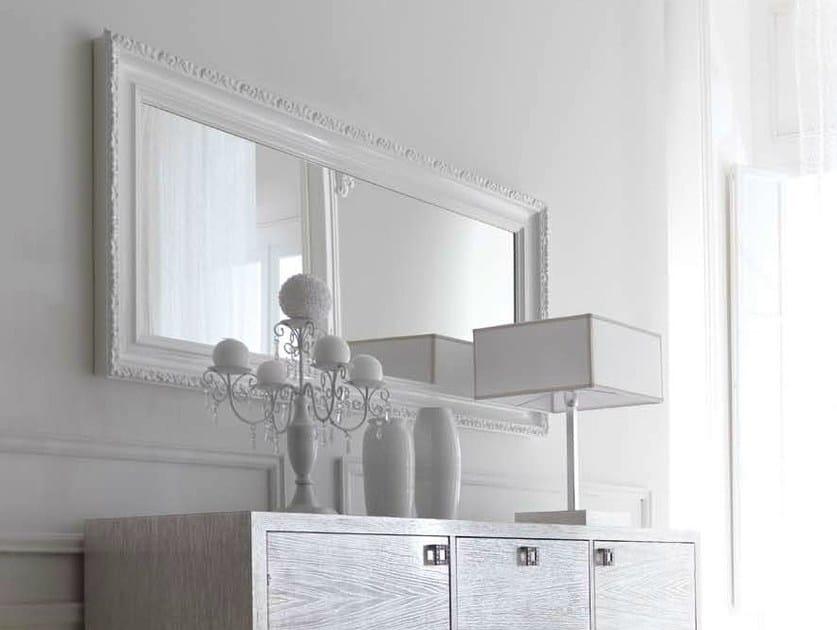 Specchio a parete con cornice greta by cortezari - Pareti a specchio ...