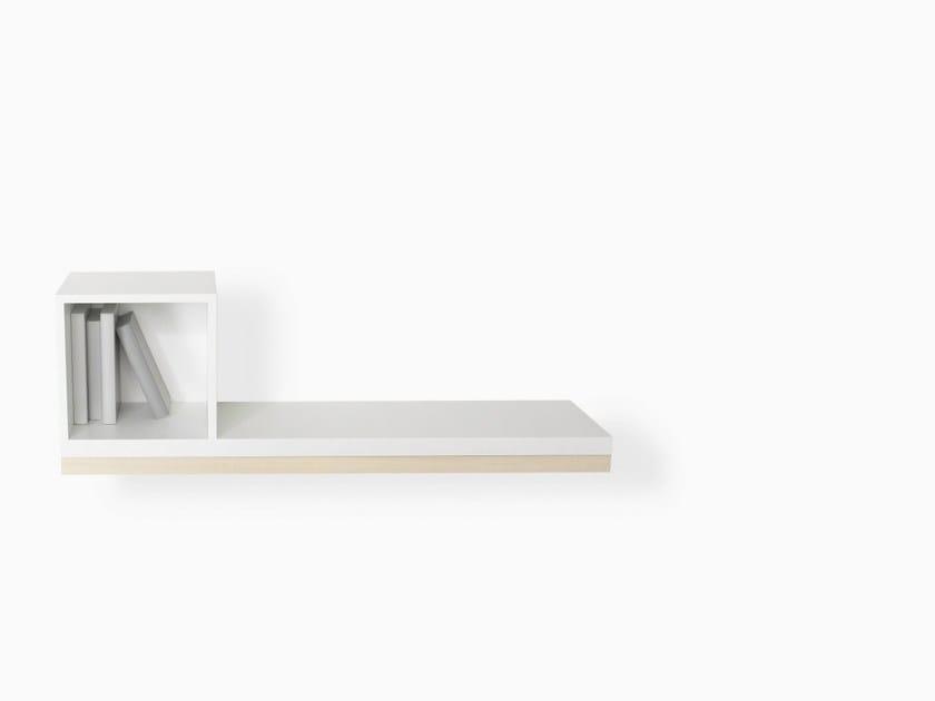 Plywood wall shelf WALL SHELF - Specimen Editions