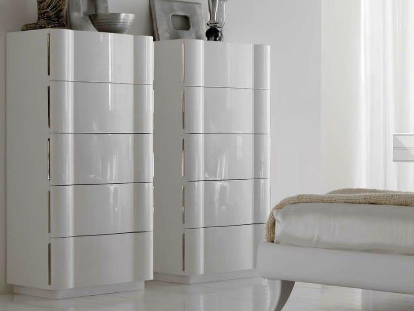 Lacquered chest of drawers LEON - CorteZari