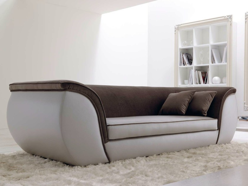 3 seater leather sofa LAPO - CorteZari