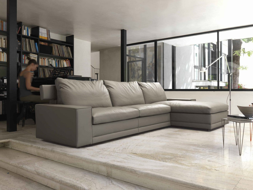 3 seater upholstered sofa with footstools