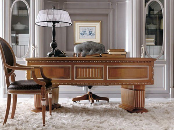 Writing desk with drawers NAPOLI | Writing desk - Martini Mobili