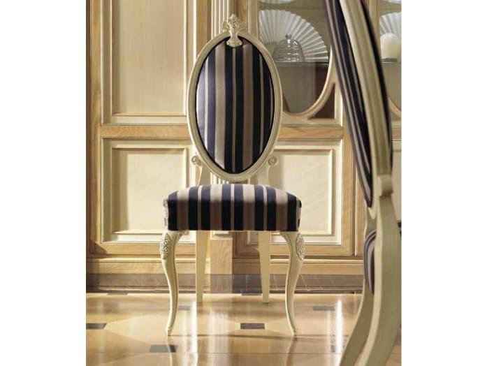 Medallion ash chair VENEZIA | Chair - Martini Mobili