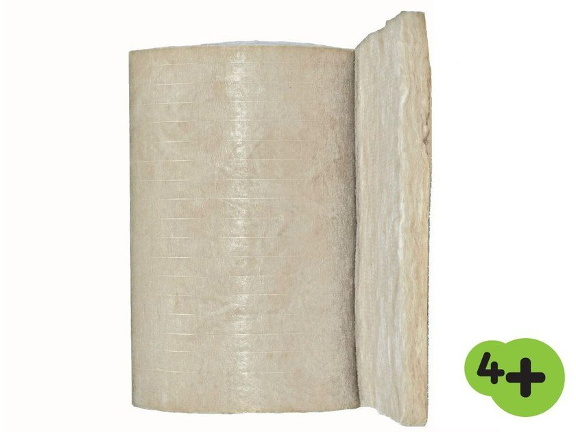 Glass wool thermal insulation felt PAR 4+ by Saint-Gobain ISOVER