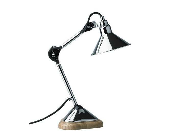 Swivel adjustable with swing arm table lamp N°207 | Table lamp by DCW éditions