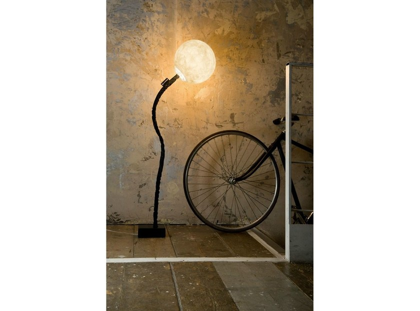 Adjustable Nebulite® floor lamp MICRO LUNA | Floor lamp - In-es.artdesign