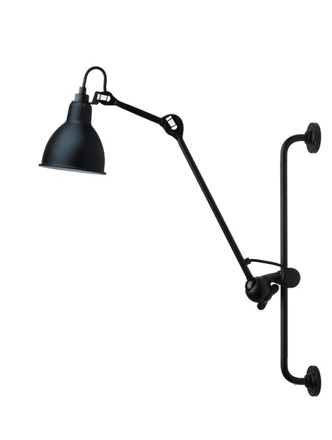 Adjustable wall lamp with swing arm N°210 | Wall lamp by DCW éditions