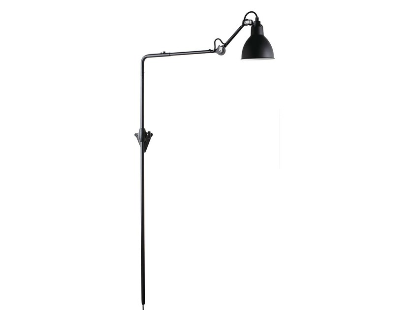 Adjustable wall lamp with fixed arm N°216 | Wall lamp by DCW éditions