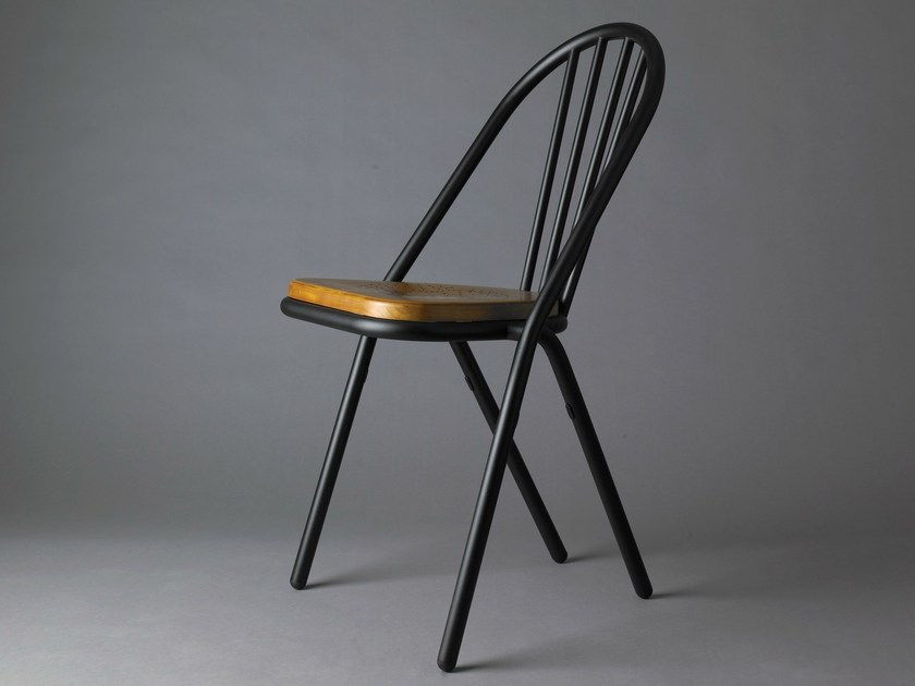 Stackable chair SURPIL | Chair by DCW éditions