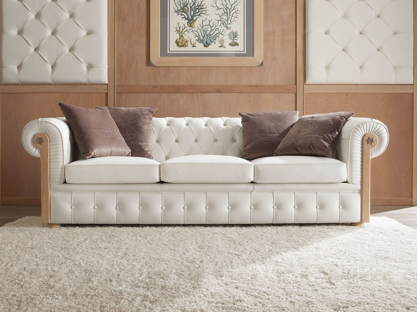 Tufted 3 seater sofa CHESTER | Sofa by Caroti