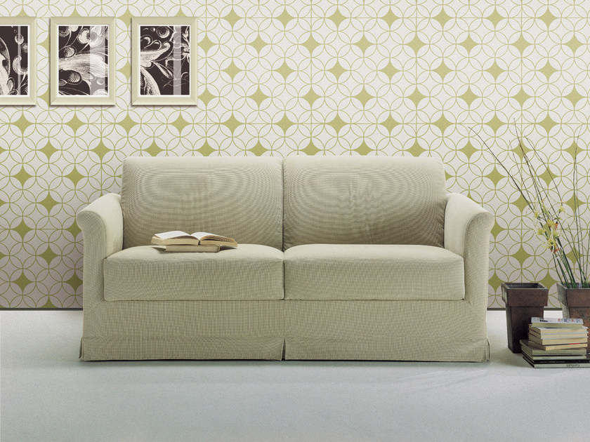 Convertible 2 seater sofa bed ROMEO by Bodema