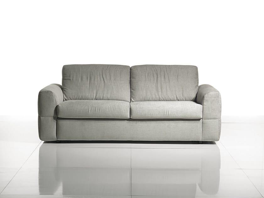 Divano letto in tessuto a 2 posti simply soft collezione - Divano smontabile ...