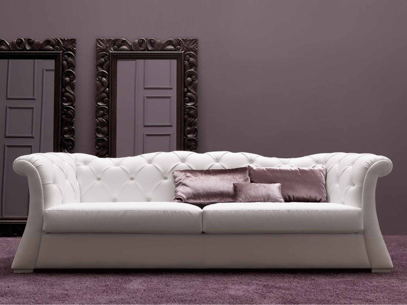 3 seater leather sofa PASCAL by CorteZari