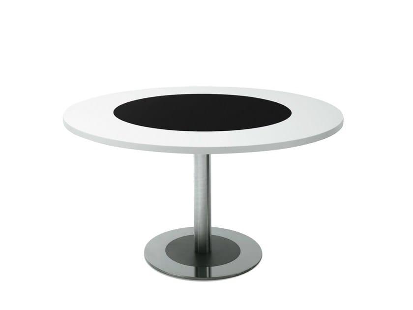 Round MDF table 4 TO 8 | Round table - Desalto
