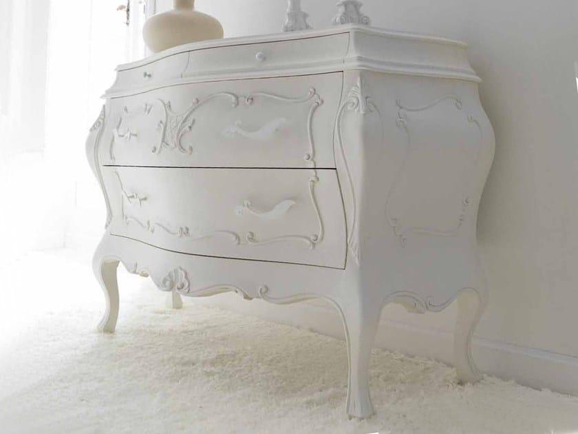 Gesso craquelé cat. B - glossy white handles