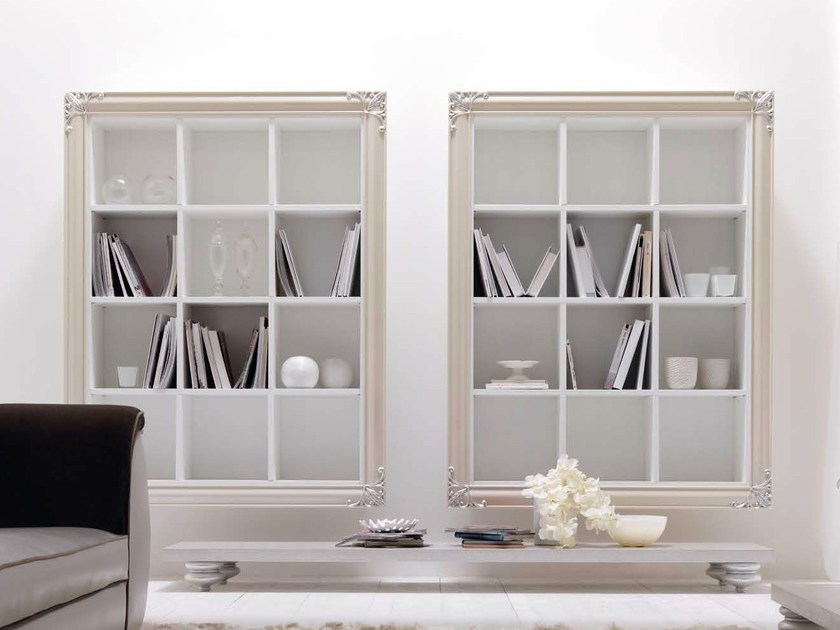 Open floating bookcase CLARA | Open bookcase by CorteZari