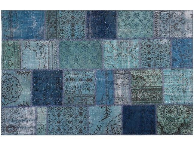 Handmade patchwork rug ROCK | Rug by Sirecom Tappeti