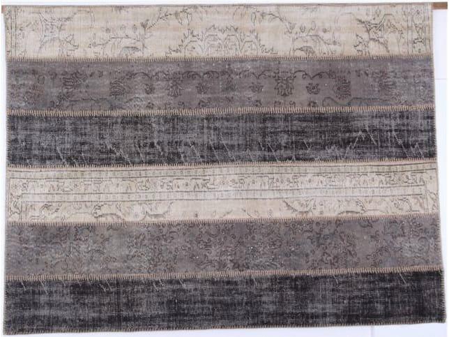 Tappeto fatto a mano a righe only you collezione groupie - Sirecom tappeti ...
