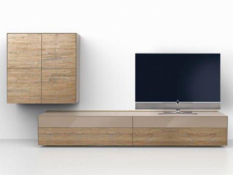wandmontierte wohnwand aus holz cubus pure kollektion cubus pure by team 7 nat rlich wohnen. Black Bedroom Furniture Sets. Home Design Ideas