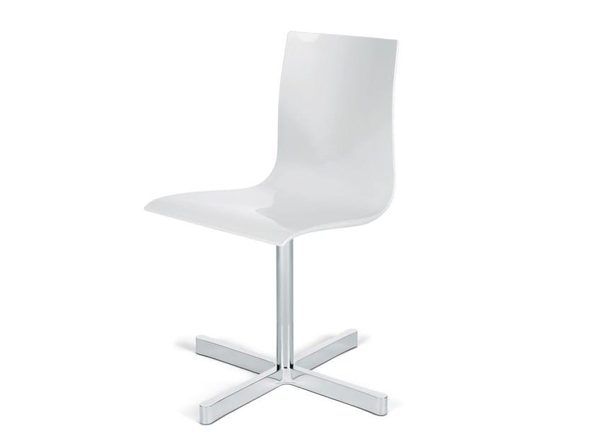 Swivel Task chair with 4-Spoke base