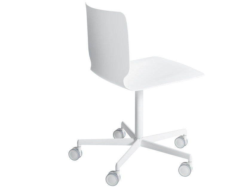 Chair with 5-Spoke base with Casters