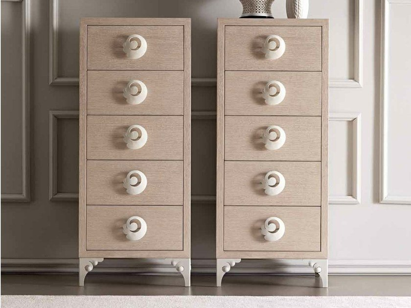 Wooden chest of drawers KEOPE by CorteZari