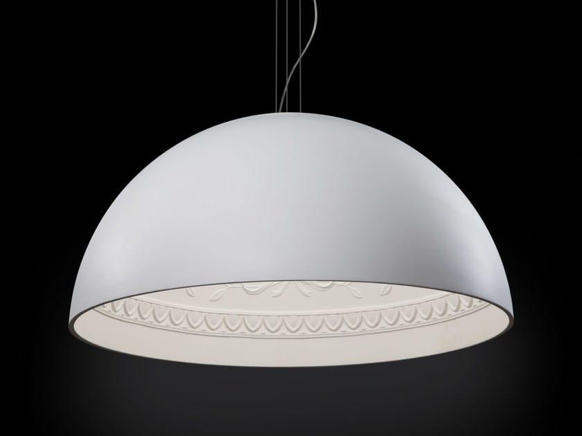 Gypsum pendant lamp CHIARODÌ | Pendant lamp - Metal Lux di Baccega R. & C.