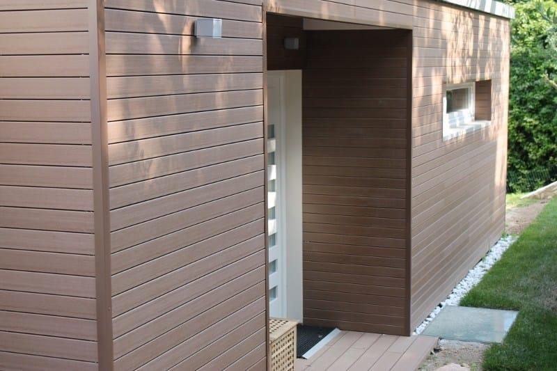 Doga in legno composito profilo plus 75x15 for Recinzioni in legno composito