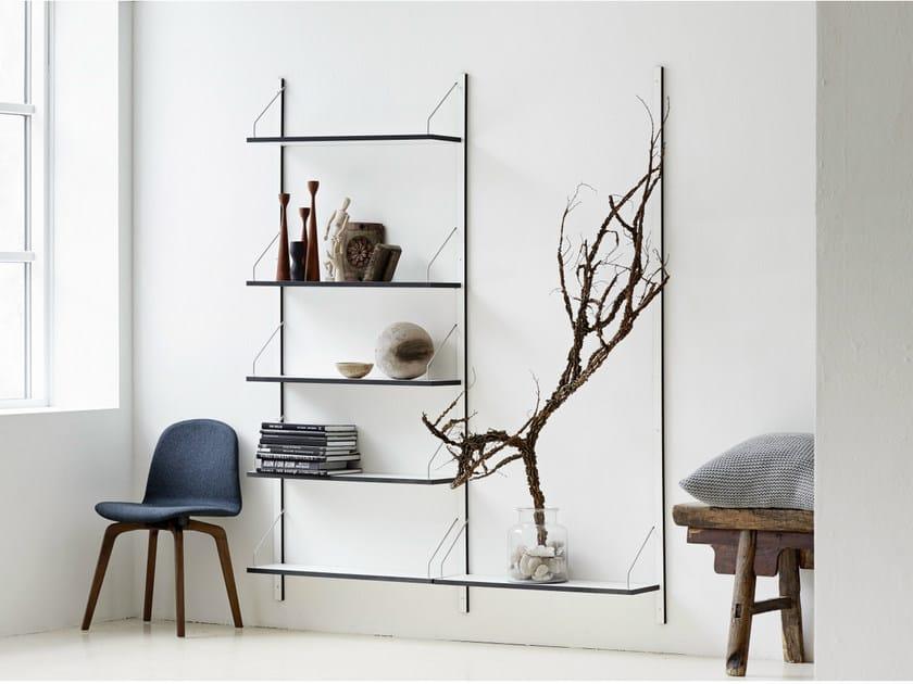 Wall-mounted sectional HPL bookcase - Libreria a parete componibile sospesa