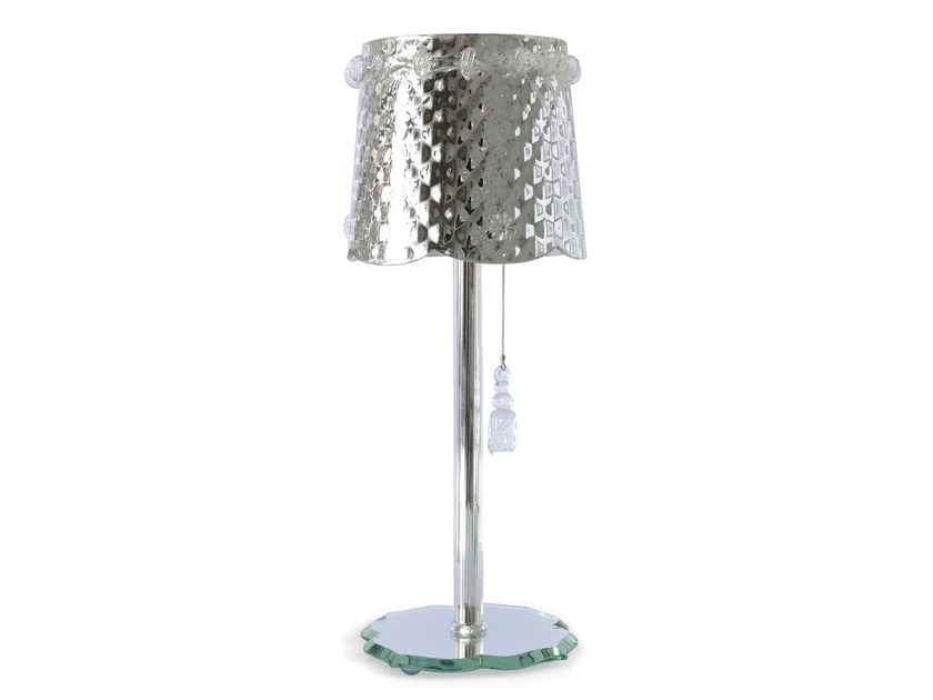 Murano glass table lamp POMPON by Veronese