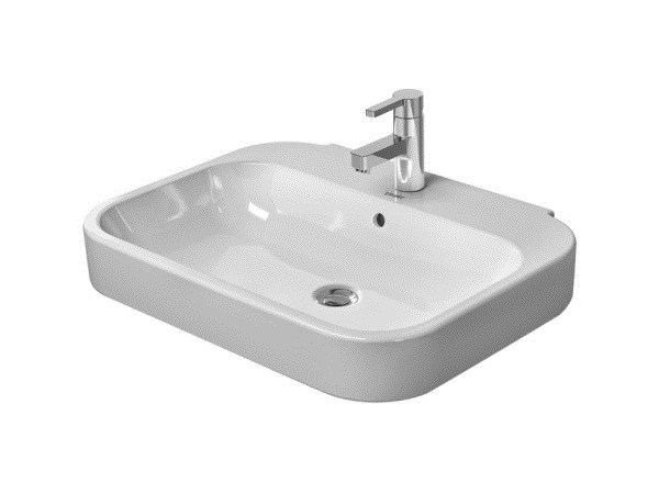 Ceramic washbasin with overflow HAPPY D.2 | Washbasin by Duravit