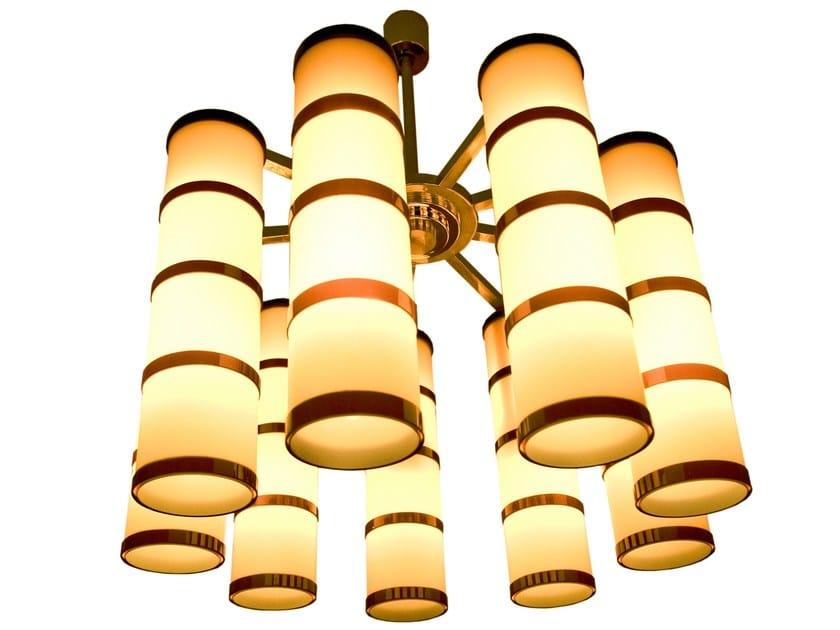 Murano glass chandelier MURENE | Chandelier - Veronese