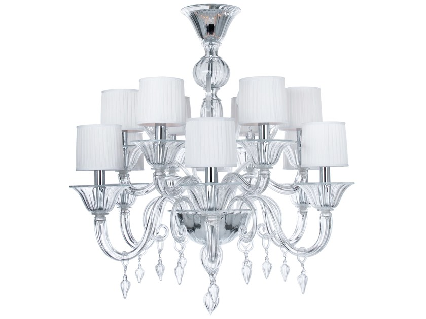 Murano glass chandelier CACHEMIRE - Veronese