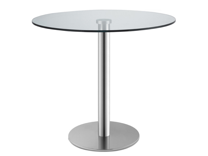 Round tempered glass table TIFFANY GLASS | Round table - SCAB DESIGN