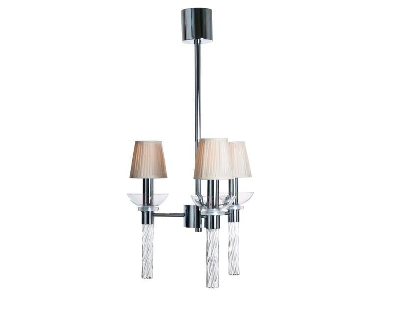 Murano glass pendant lamp MICHAELA | Pendant lamp by Veronese