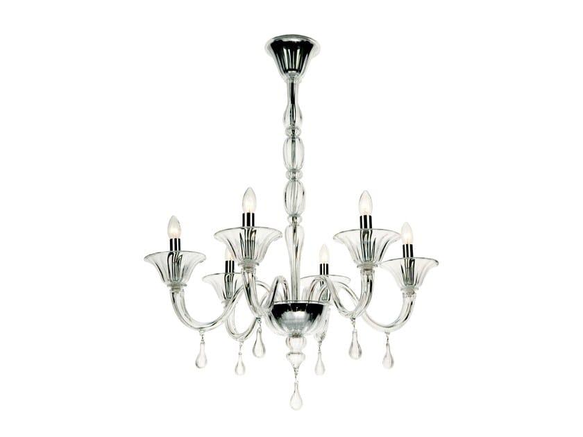 Murano glass chandelier TRENTINA by Veronese