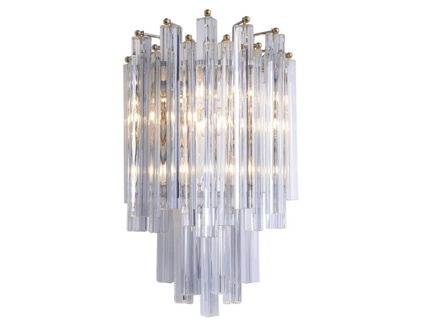 Murano glass wall light MIRLESS - Veronese