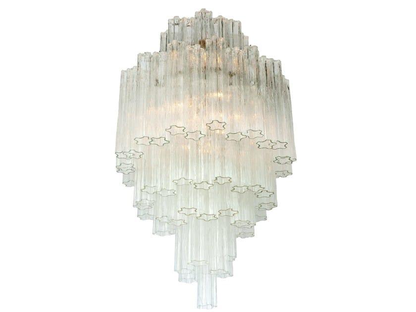 Murano glass chandelier TRONCHI - Veronese