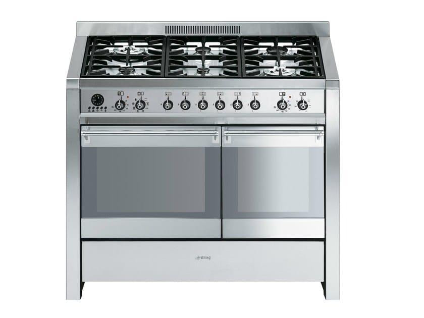Stainless steel cooker CS20-8 | Cooker - Smeg
