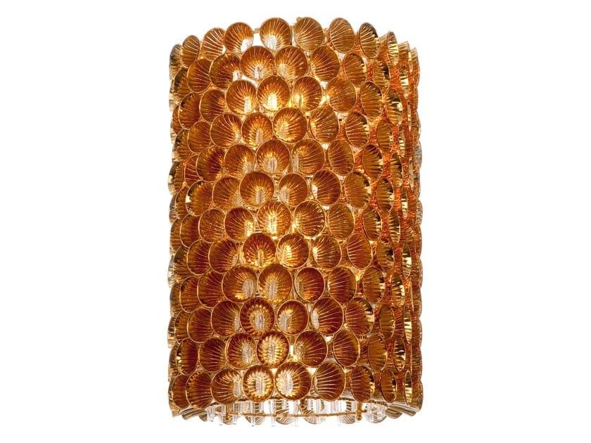 Murano glass pendant lamp CORAIL - Veronese