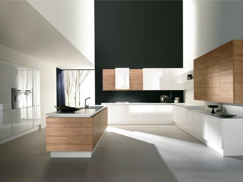 Corex® kitchen with island