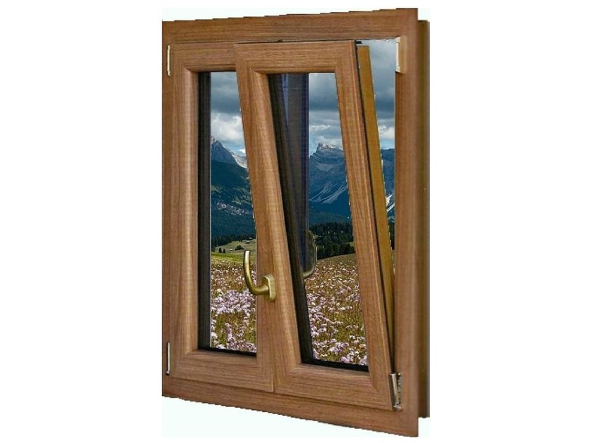 PVC top-hung window PVC window by GBA PLASTIK