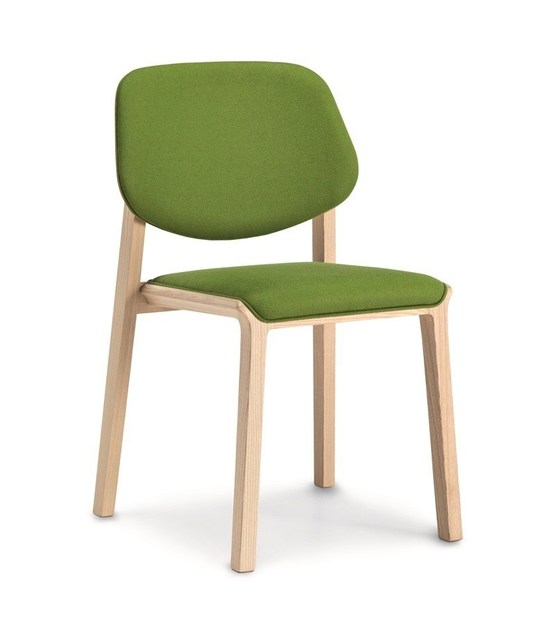 Stackable fabric chair YARD | Chair - CIZETA
