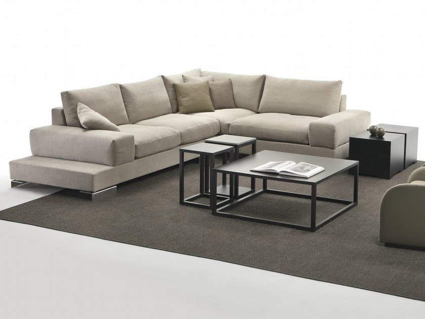 Divano componibile angolare in tessuto albert divano componibile giulio marelli - Divano componibile angolare ...