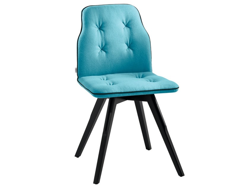 Upholstered chair BETIBÙ S by CHAIRS & MORE